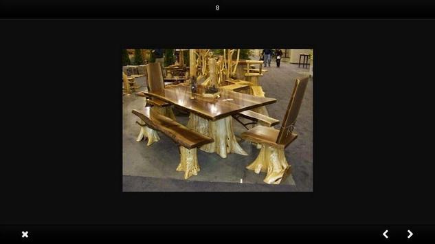 Wooden chair design screenshot 3