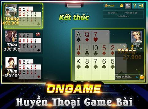 Ongame Mậu Binh (game bài) ảnh chụp màn hình 1