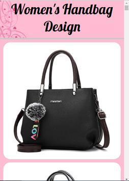 design of women's handbag poster