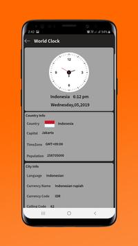 World Clock screenshot 4