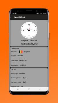 World Clock screenshot 2