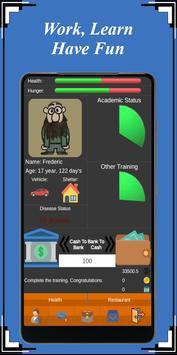 Homeless Life Simulator poster