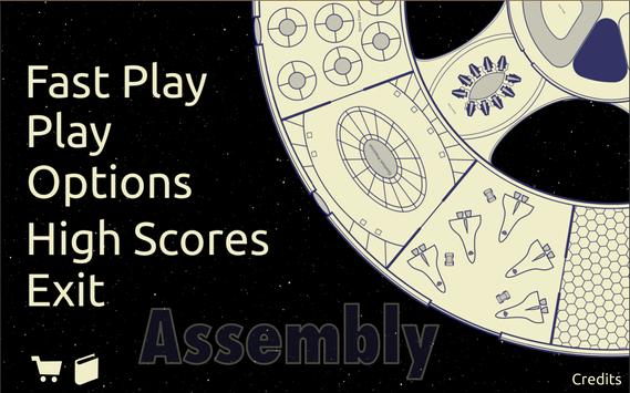 Assembly Tabletop Card Game poster