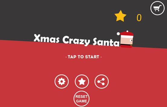 Xmas Crazy Santa Christmas Games poster