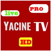 Yassin Tv 2021 ياسين تيفي live football tv HD أيقونة