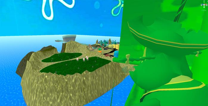 Bikini Bottom Map - Original Bob Adventure Game screenshot 3