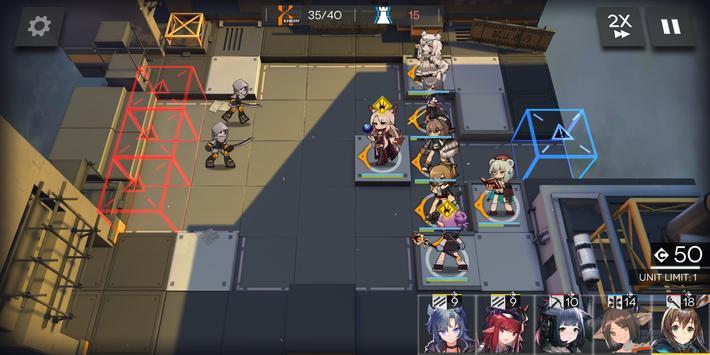 Arknights capture d'écran 5
