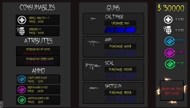 Eternal Soldier: Monster Defense Shooting screenshot 2