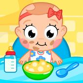 Уход за ребенком иконка