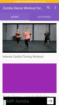 Zumba Dance Workout for Weight loss screenshot 1