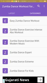 Zumba Dance Workout for Weight loss screenshot 2