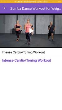 Zumba Dance Workout for Weight loss screenshot 3