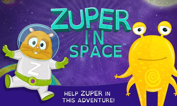 ZUPER IN SPACE poster