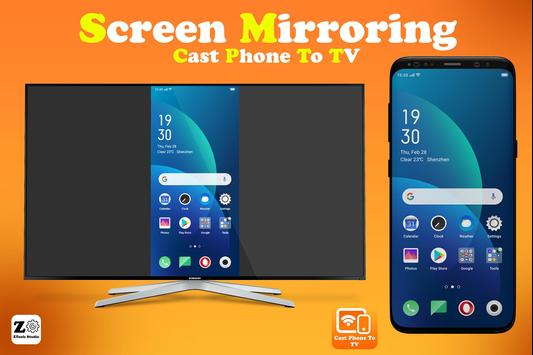 Screen Mirroring - Cast Phone to TV poster