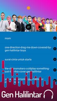 Lagu Gen Halilintar Offline + Lirik 2019 screenshot 4