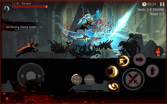 ☠☠Shadow of Death: Dark Knight - Stickman Fighting screenshot 19