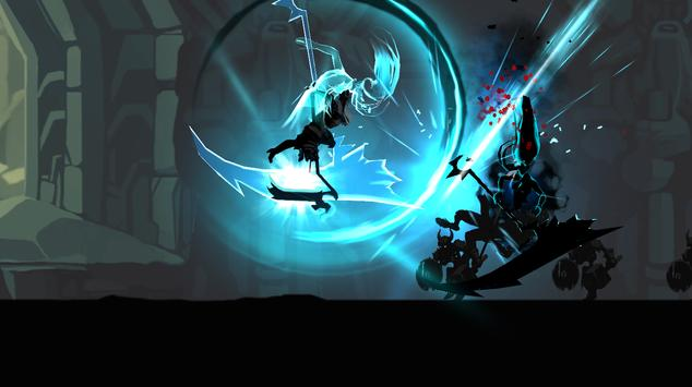 ☠☠Shadow of Death: Dark Knight - Stickman Fighting screenshot 1