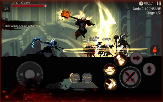 Shadow of Death: Dark Knight - Stickman Fighting imagem de tela 20