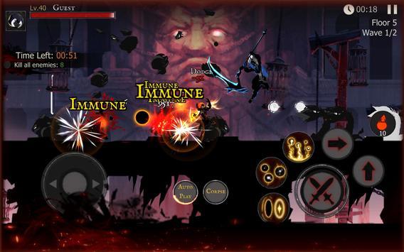 ☠☠Shadow of Death: Dark Knight - Stickman Fighting screenshot 23