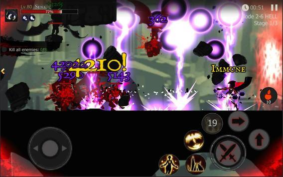 Shadow of Death: Dark Knight - Stickman Fighting screenshot 15