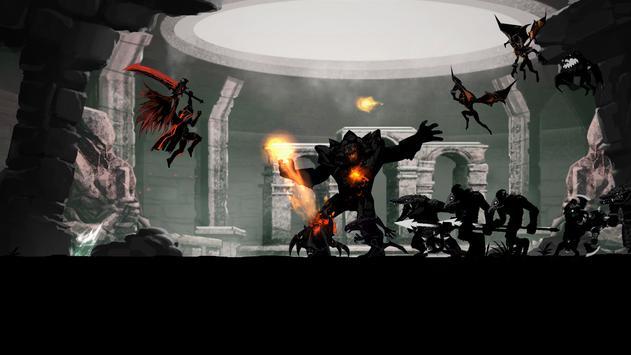 Shadow of Death: Dark Knight - Stickman Fighting captura de pantalla 10
