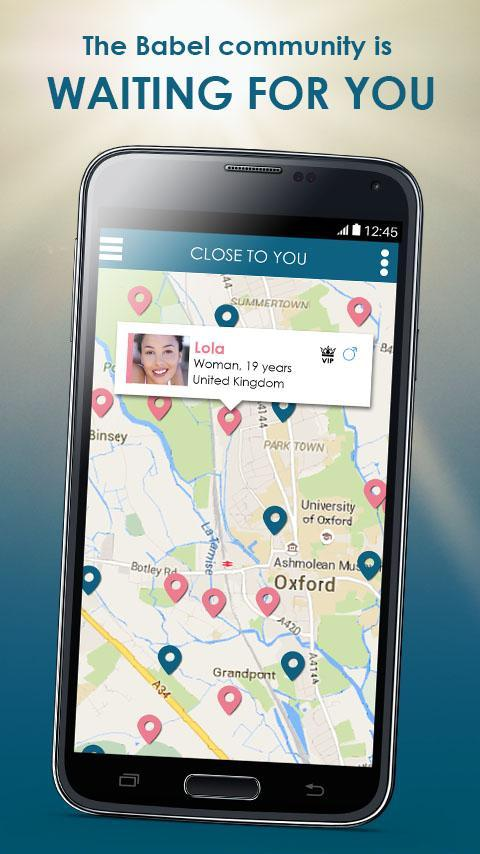 Mobile dating apps international