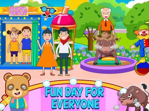 Mini Town: Summer Theme Park poster