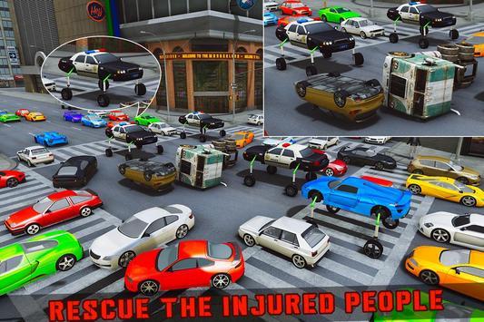 Elevated Car Racing Speed Driving Parking Game تصوير الشاشة 4