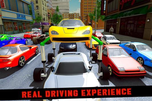Elevated Car Racing Speed Driving Parking Game الملصق
