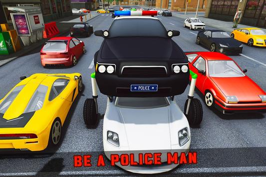 Elevated Car Racing Speed Driving Parking Game تصوير الشاشة 1
