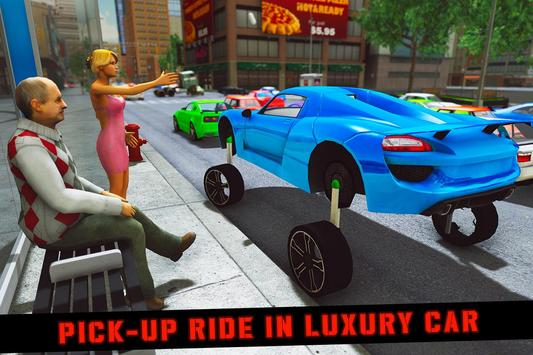 Elevated Car Racing Speed Driving Parking Game تصوير الشاشة 3