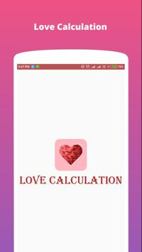 Love Calculation poster