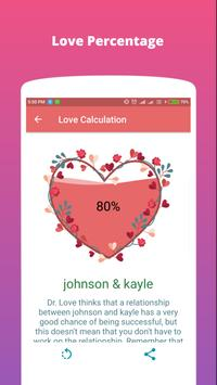 Love Calculation screenshot 2