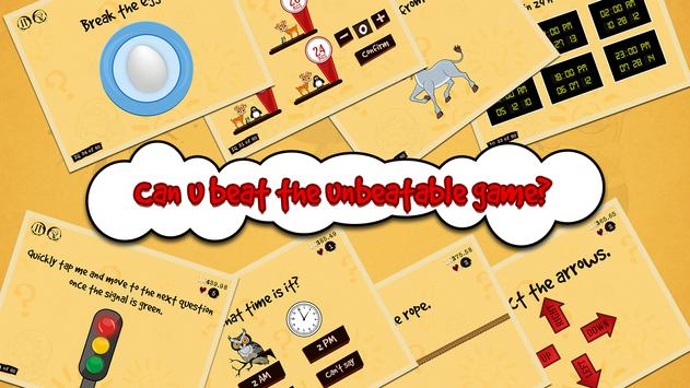 The Unbeatable Game - IQ Tricky Test screenshot 10