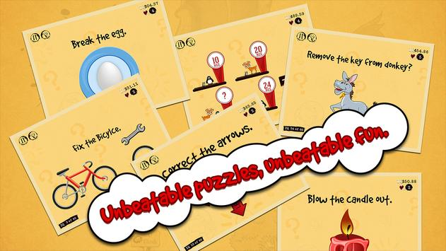 The Unbeatable Game - IQ Tricky Test screenshot 1