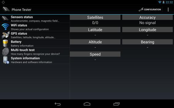 Phone Tester screenshot 10