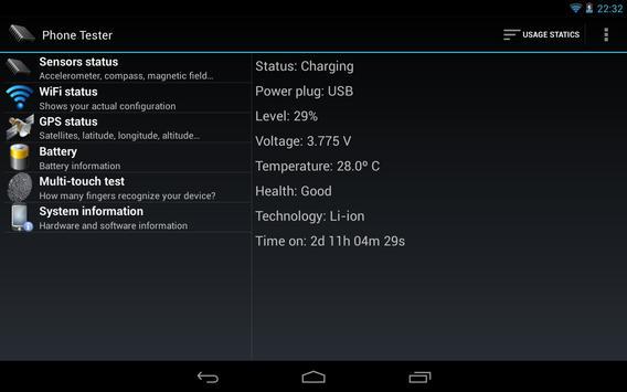 Phone Tester screenshot 11