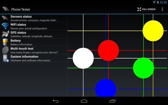 Phone Tester screenshot 12