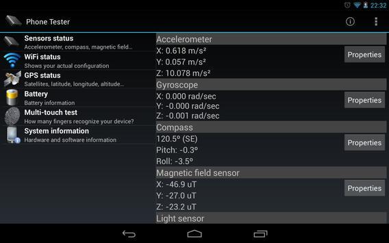 Phone Tester screenshot 8