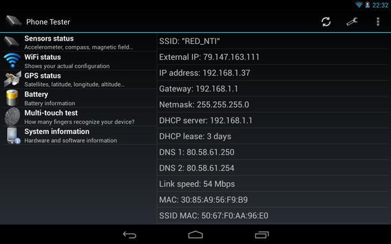 Phone Tester screenshot 9