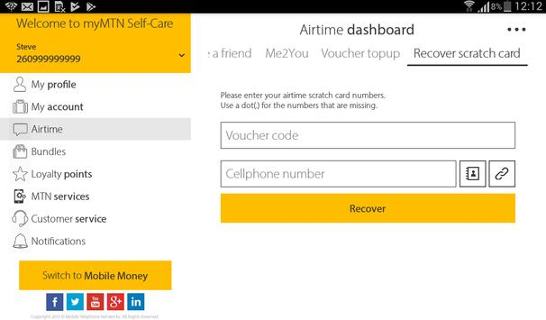 MyMTN screenshot 13