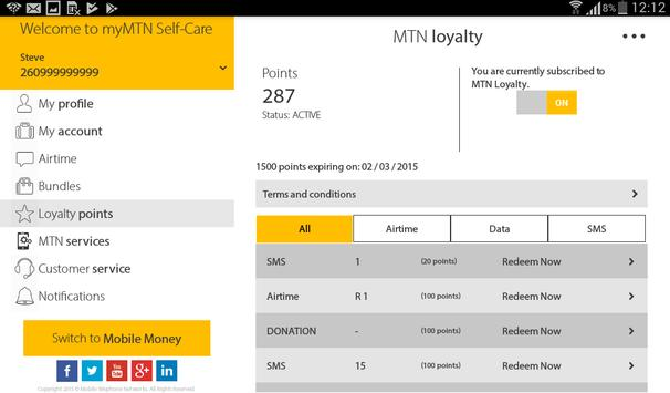 MyMTN screenshot 22