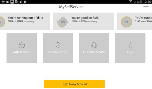MyMTN screenshot 8