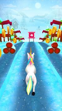 Unicorn Runner 2020: Running Game. Magic Adventure poster
