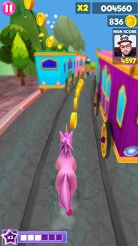 Unicorn Runner 2020: Running Game. Magic Adventure screenshot 13