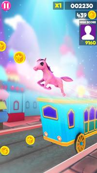 Unicorn Runner 2020: Running Game. Magic Adventure screenshot 1