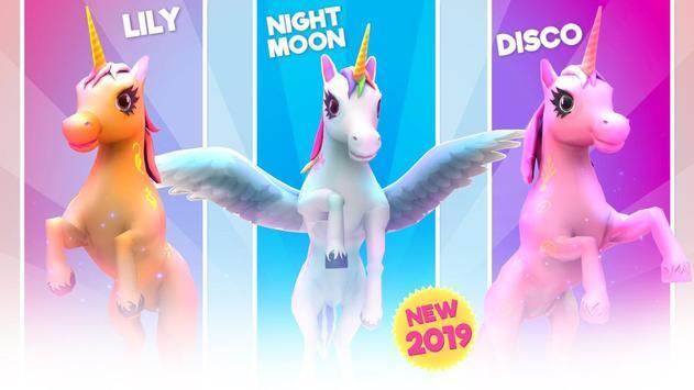 Unicorn Runner 2020: Running Game. Magic Adventure screenshot 20
