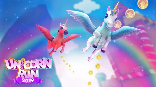 Unicorn Runner 2020: Running Game. Magic Adventure screenshot 21