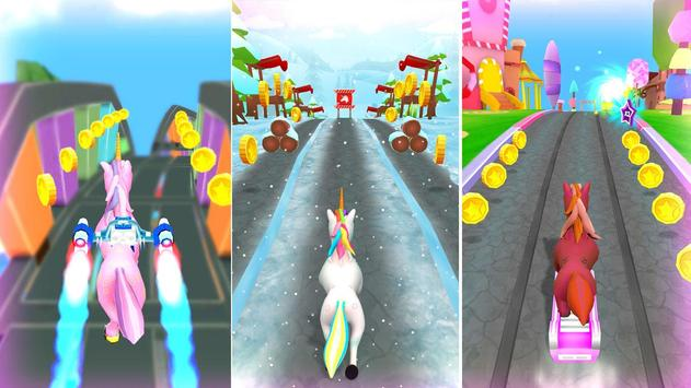 Unicorn Runner 2020: Running Game. Magic Adventure screenshot 3