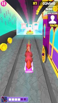 Unicorn Runner 2020: Running Game. Magic Adventure screenshot 7